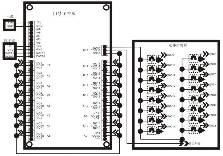 楼宇对讲门铃如何接线-楼宇对讲门铃如何接线